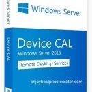 MS Windows Server 2016 & R2 Remote Desktop Services 50 DEVICE CAL License Key
