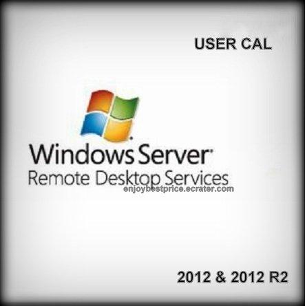 Microsoft Windows Server 2012 R2 Remote Desktop Services 50 Users CAL 64 bit KEY