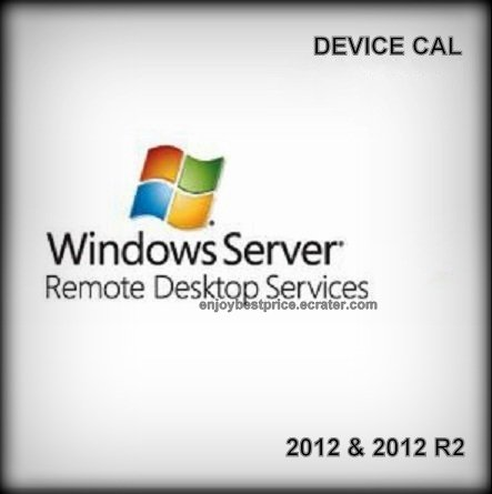 Microsoft Windows Server 2012 R2 Remote Desktop Services 50 Device CAL 64 bit KEY