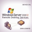 Microsoft Windows Server 2008 R2 Remote Desktop Services 20 Device CAL 64 bit KEY