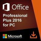 Microsoft Office 2016 Pro Plus 32 64 bit Lifetime KEY Soft Link INCLUDED