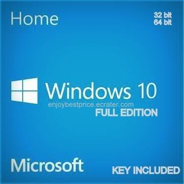 Microsoft Windows 10 Home 32 64 bit License key & Download link Lifetime Full Edition