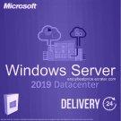 Microsoft Windows Server 2019 Datacenter 64-bit Licence Key +Soft