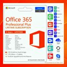 Microsoft Office 365 Pro Plus Account Lifetime 20 USERS 5 TB Windows Mac Tablet Phone