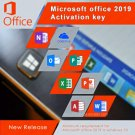 Microsoft Office 2019 Pro Plus 32 64 bit Lifetime KEY Soft Link INCLUDED