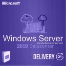 Microsoft Windows Server 2019 Datacenter 64-bit Licence Key +Soft