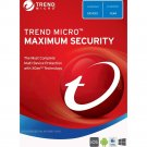 Trend Micro Maximum Security (2019) - 1-Year / 3-Devices