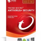 Trend Micro Antivirus plus Security (2019) - 1-Year / 3-Devices