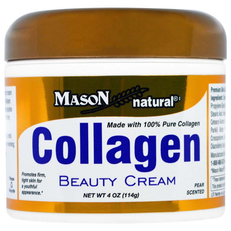 Collagen Beauty Cream, Pear Scented, 4 oz (114 g)
