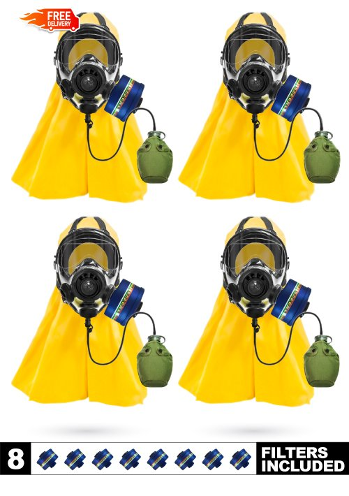 4-Person Ultimate CBRN Protection Package