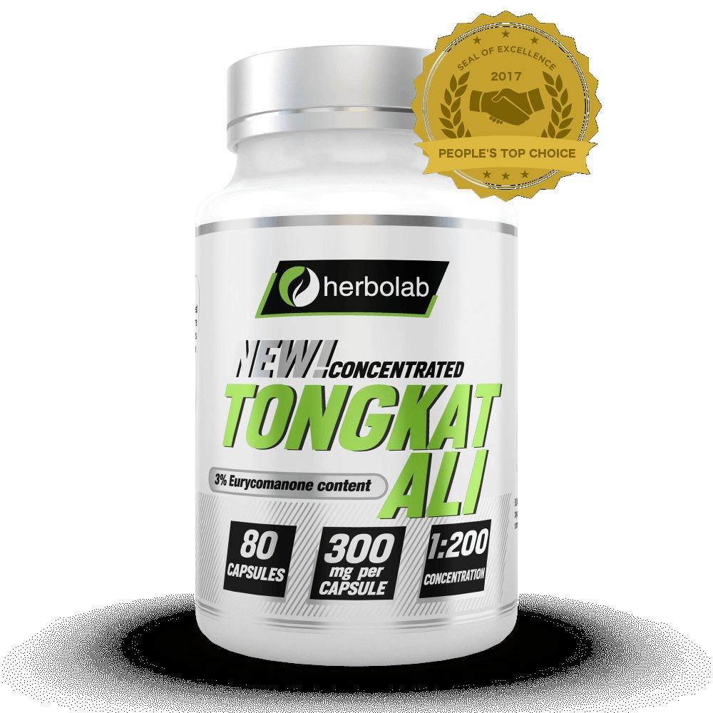 Tongkat Ali 1:200 Super Strength 80 Capsules - Nature's Most Powerful Sexual Enhancer For Men