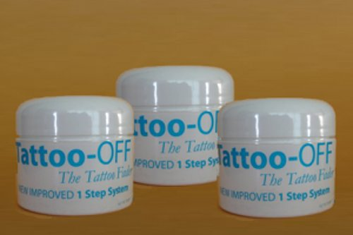 Tattoo-OFF Tattoo Removal System - 3 Months Pack - New Improved Faster & Easier