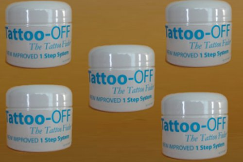 Tattoo-OFF Tattoo Removal System - 5 Months Pack - New Improved Faster & Easier