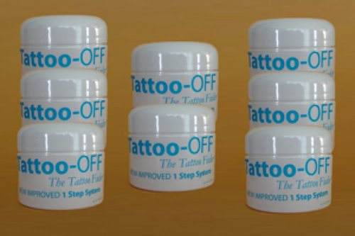 Tattoo-OFF Tattoo Removal System - 8 Months Pack - New Improved Faster & Easier