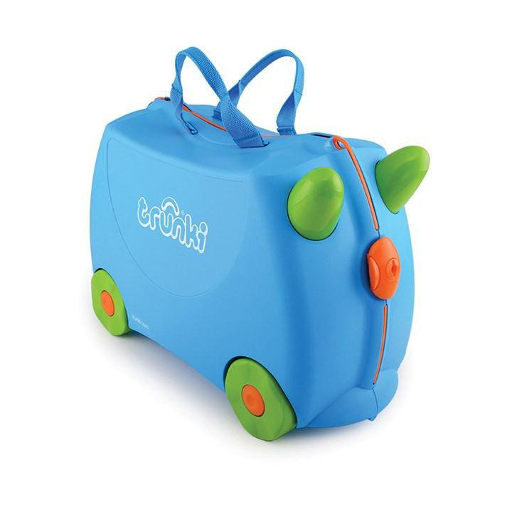 Trunki Original Ride-On Suitcase For Globe-Trotting Tots - Terrance Trunki
