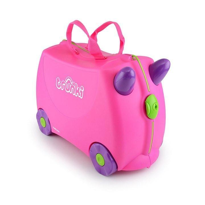 Trunki Original Ride-On Suitcase For Globe-Trotting Tots - Trunki Trixie