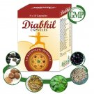 Organic Herbal Diabetes Treatment -  100 Diabkil Capsules