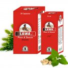 Natural Male Sexual Stamina Booster Pills - 60 Lawax Capsules + 3 Bottles Lawax Oil