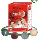 Herbal Iron Deficiency Treatment  - 200 Feroplex Capsules