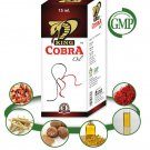 Herbal Penis Erection Oil - 3 x 15ml Bottles King Cobra Oil