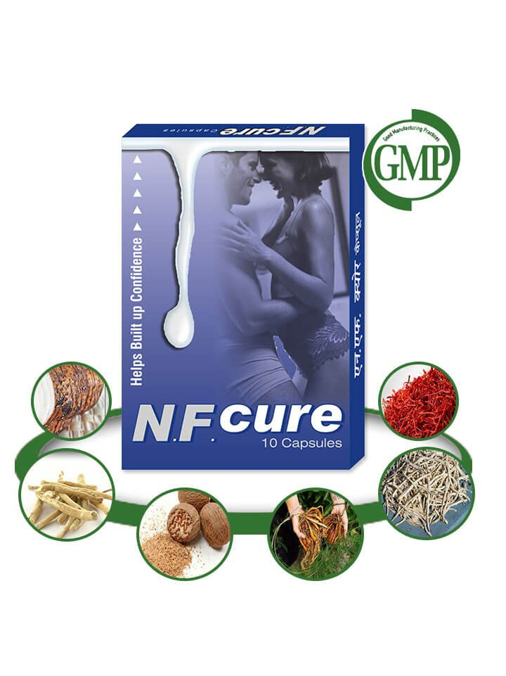Herbal Sperm Leakage Treatment - 60 NF Cure Capsules Nightfall Treatment