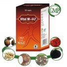 Organic Herbal Energy Booster Pills for Men - 60 Capsules
