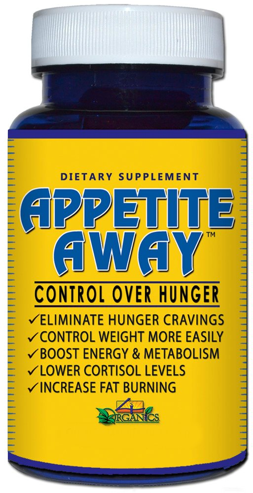 Appetite Away - Appetite Suppressant Weight Loss Supplement (30 Capsules)