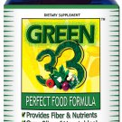 Daily Greens Vegetable Superfoods Supplement (90 Capsules) - Green 33