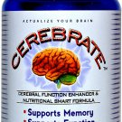 Brain Function Memory Support Supplement (60 Capsules) - Cerebrate