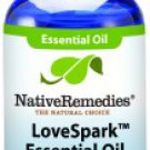 LoveSpark Essential Oil Blend - Aphrodisiac, soothing, and uplifting