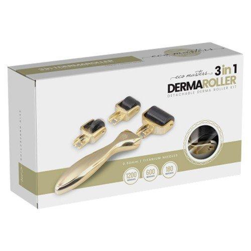 3 In 1 Derma Roller - Premium Micro-Needling Tool