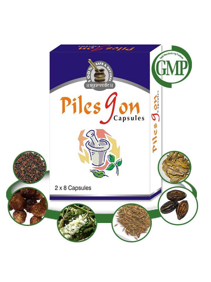 Herbal Treatment for Hemorrhoids - 64 organic herbal tablets
