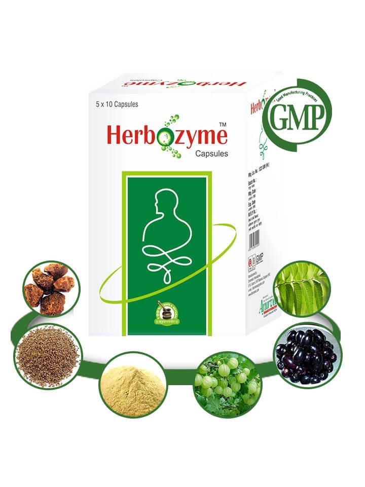 Herbal Treatment for Heartburn & Acid Reflux - 200 Organic Herbal Pills