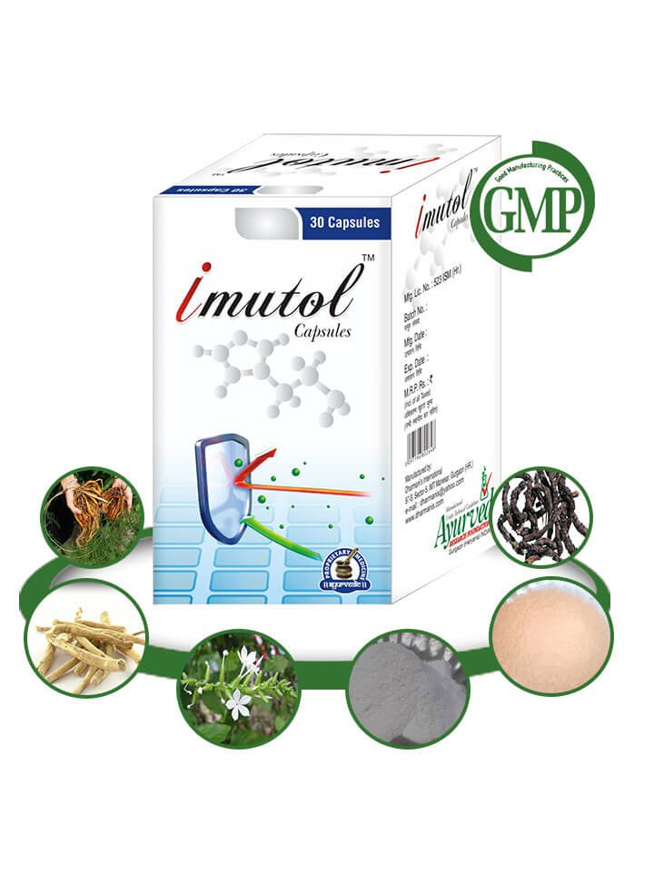 Natural Immune System Booster Supplements - 60 organic herbal pills