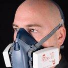 3M Half Face Premium Reusable Dust Mask / Respirator (SARS, Flu, Coronavirus)