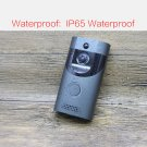 Smart WiFi Doorbell Ring Wireless Video Camera Phone Bell Intercom (Black)