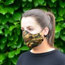 Camouflage 100% Cotton Canvas Mask - Machine Washable, Reusable and Fashionable