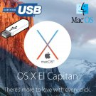 Apple Mac OS X 10.11 El Capitan Recovery Repair Reinstall USB