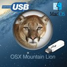 Apple Mac OS X 10.8 Mountain Lion Recovery Repair Reinstall USB