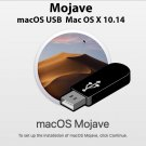 Apple Mac OS X 10.14 Mojave Recovery Repair Reinstall USB
