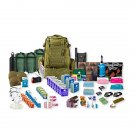 3 Person 72 Hour Emergency Bug Out Bag Coyote inc Sleeping Bags etc