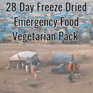 Vegetarian 28 Days Freeze Dried Emergency Food Pack For 1 Person