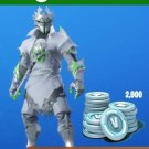 Fortnite: Legendary Rogue Spider Knight Outfit + 2000 V-Bucks Bundle Xbox One