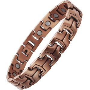 Hugo Enrico Copper Magnetic Bracelet
