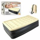 High Raise Double Airbed + Built-in Pump