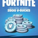 V-Bucks - Fortnite 2800 V-Bucks Gift Card Key GLOBAL