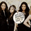 Silver Chain Pretty Little Liars Got A Secret Can You Keep It Pendant Necklace