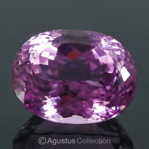 20.65 cts Natural Pink KUNZITE Spodumene Oval Cut Clean Afghanistan Certified
