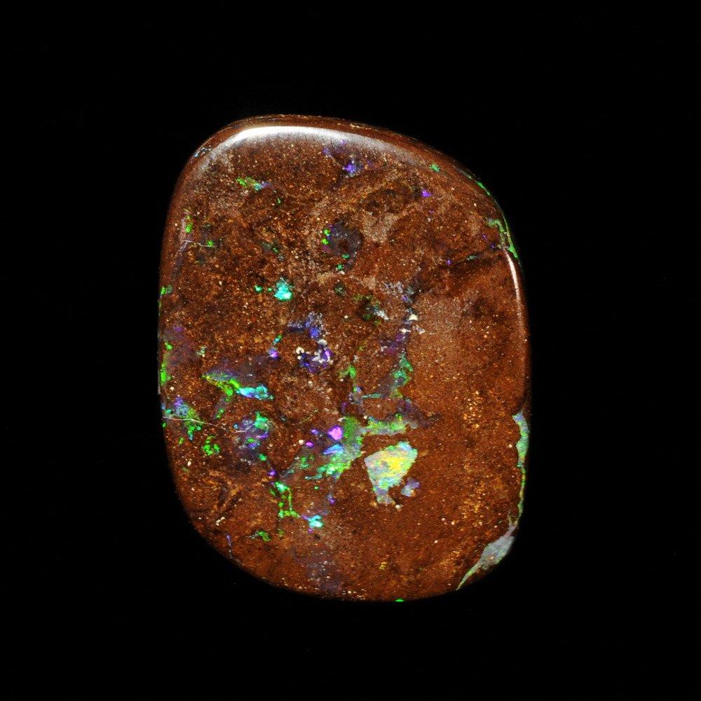 Genuine SOLID AUSTRALIAN BOULDER OPAL Gemstone 24.06ct