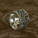 RING Genuine Solid Sterling SILVER Ring 4.95 g US size 6.5 ~ Handmade in Bali